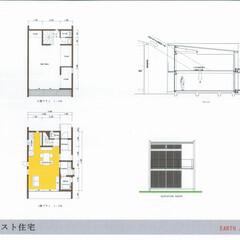 ローコスト住宅/1500万円の家/2000万円以下/建築家/静岡 「1500万円の家」 1階部分の「水回り…