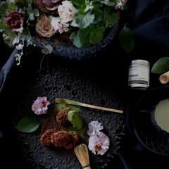おうちカフェ/手作り/マッチャオロジスト/抹茶/ココナッツバター/raw chocolate/... もうすぐ2月バレンタイン時期ですね。 罪…