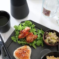 焼きおにぎり/アレンジ/唐揚げ/お昼ごはん/ランチ/在宅ワーク食/... 今日の在宅ワーク食  今月いっぱい在宅と…