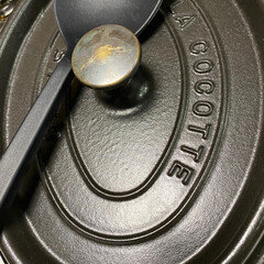 STAUB ストウブ ピコ・ココット オーバル/23cm ブラック/102325 | ストウブ(圧力鍋)を使ったクチコミ「今日の食事は 鯛でアクアパッツァ  ST…」