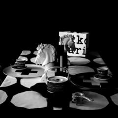 ラテマグ 単品 マリメッコ Siirtolapuutarha シイルトラプータルハ ドット柄 コーヒーカップ ハンドルなし | marimekko(カップ、ソーサー)を使ったクチコミ「おうち時間の有効な使い道 賃貸のわが家 …」