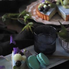 iittala イッタラ ウルティマツーレ Ultima Thule グラス オールドファッション S 200ml レイン 2個セット | イッタラ(アルコールグラス)を使ったクチコミ「オススメの夏の食器と おやつ  暑くなり…」