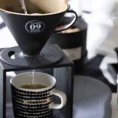 抹茶/お茶/ドリッパー/DIY/ダイソー/100均/... いつものお茶をドリッパーで 抹茶を加えて…