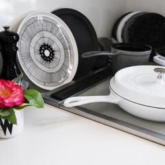ストウブ staub ビュッフェスキレット 26cm 黒 40510-617 RSTE301 | STAUB(皿)を使ったクチコミ「雑貨大好き❤  キッチン雑貨と言えば 食…」