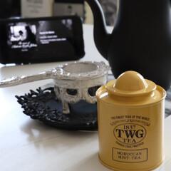 ペパーミント/お気に入り/ティータイム/紅茶/teatime/TEA/... 最近のおススメ紅茶 夏のムシムシ感を 抑…
