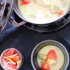 タイ料理/鶏肉料理/レシピ/牛尾理恵/Stsub/ストウブ/... 私のごはん 今晩は鶏肉のココナッツミルク…