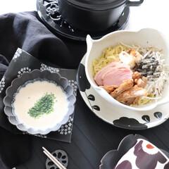 ラーメン/つけ麺/食器/器/marimekko/マリメッコ/... 幸せ私のご飯 ちょっと美味しいつけ麺で食…