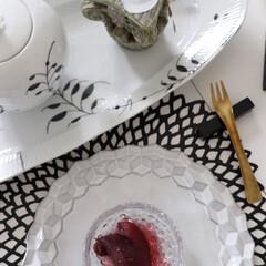 料理/りんご/今晩のデザート/デザート/ワイン/ホワイト食器/... 幸せわたしごはん  今日に夕飯のデザート…