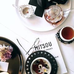 ピアヴァレン/白い器/鈴木環/伊藤剛俊/器/ティータイム/... 冬の寒い日に紅茶を楽しむなら ガラスの急…