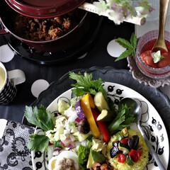 アラビア/アラビアパラティッシ/ブラックパラティッシ/アンダープレート/ストウブ/ワンプレート/... わが家の食器を投函してますが、北欧食器の…