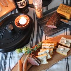 STAUB ストウブ ピコ・ココット オーバル/27cm ブラック/102725 | ストウブ(圧力鍋)を使ったクチコミ「久々の薫製料理 今週は、厚揚げ豆腐に ソ…」
