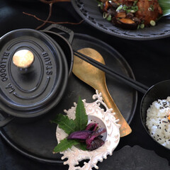 ご飯のお供/お昼ご飯/伊藤剛俊/茶こし/器/食器/... 日々の食卓 数ある器の使い方ですが 茶こ…