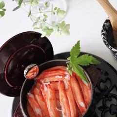幸せおうちごはん/おうちごはん/カニカマ/カニカマ炊き込みご飯/ご飯/炊き込みご飯/... 幸せおうちごはんは、カニカマたっぷりの炊…