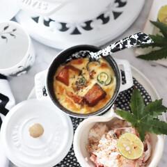 キッシュ/おうちごはん/ごはん/燻製鮭とカニカマの炊き込みごはん/燻製鮭/カニカマごはん/... ピュアホワイトという カラー時代のストウ…