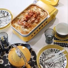 ボウル マリメッコ Rasymatto ラシィマット Bowl 400ml ドット柄 ブラック × ホワイト | marimekko(汁椀)を使ったクチコミ「今日のランチは 家族と一緒に作り立てを …」