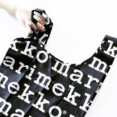 北欧/白黒雑貨/モノトーン/maiikkoo/マリメッコ/バッグインバッグ/... 今日の雑貨大好き❤は ファッション雑貨 …