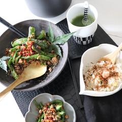 レシピ/簡単レシピ/おかず/時短調理/夕飯/和食器/... 今日の作り置き1品 万願寺トウガラシピー…