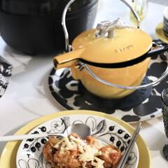 ストウブ(staub)専用アニマルノブ チキン 40509−346 ストウブ | STAUB(その他調理用具)を使ったクチコミ「おうちカフェ 色々楽しもう😊 先日のイエ…」
