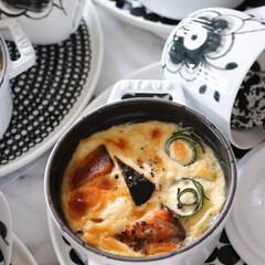 staub ストウブ 小さい 両手 ホーロー 鍋 La Cocotte Round 40501-408 | STAUB(両手鍋)を使ったクチコミ「グリルやオーブン調理するなら 鉄鍋がオス…」
