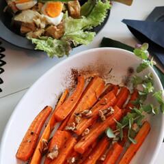 とりあえず野菜/野菜料理/牛尾理恵さん/レシピ本/レシピ/神田料理/... 牛尾先生の おそうざいサラダの本 と 並…