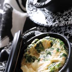 staub/ストウブ/卵料理/卵焼き/卵ごはん/朝食/... ミニココットで作る 簡単時短料理 いつも…