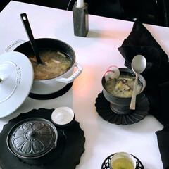 野菜スープ/白菜スープ/白菜/フグ出しスープ/家庭料理/料理/... 今日のストウブで野菜食  さっぱり野菜ス…