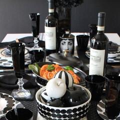 わが家の食器/ストウブ/ホーロー鍋/マリメッコ/モノトーン食器/食器/... 友人を招いてランチパーティーを楽しむ時に…