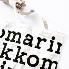 使いやすい/ファッション雑貨/ホワイト/ショッピングバッグ/キャンバスバッグ/エコバッグ/... 雑貨大好き🖤 ファッション雑貨も好きで …