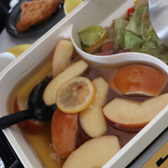 スープ/おうちごはん/料理/ホットプレートでスープ/ホットプレート/センゴクアラジン/... 幸せわたしのごはん 週末は簡単にセンゴク…(2枚目)