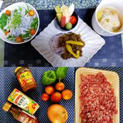 第3世界ショップ カレーの壺スパイシー 220g(カクテル)を使ったクチコミ「🌃🍴今日の晩ごはん HOTdiet食〰️…」