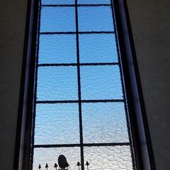 青空/ガラス窓から/ダイソー/100均/ハンドメイド/暮らし 先日他のと一緒にアップしたphotoです…
