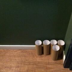 トイレ/トイレットペーパーの芯 もはやコレクション…