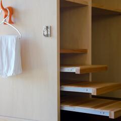 家具/犬の食事台/ペットが泊まれる宿/客室/可動カウンター 客室のわんちゃんの水飲み台。三段の高さの…