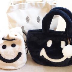 しまむら/プチプラ/バッグ/スマイリー/レディース/ファッション小物 「しまむら」で買ったスマイリーフェイスの…
