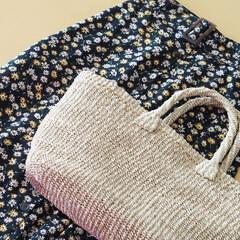 しまむら/しまむら購入品/かごバッグ/小花柄スカート/しまパト/プチプラ/... しまむらで天然のアバカでできたかごバッグ…
