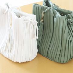 しまむら/しまむら購入品/バッグ/巾着バッグ/しまパト しまむらの巾着バッグを色違いで購入しまし…
