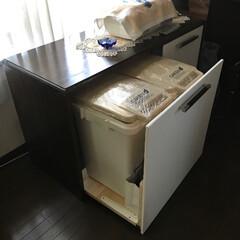 DIY/収納家具 自作の収納家具です。天板はカウンターにな…