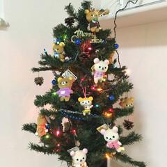 リラックマ/クリスマスツリー/クリスマス/インテリア 我が家のリラックマツリー! クリスマスを…