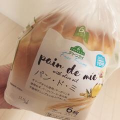 食パン/パン/トップバリュ/イオン/フード 食べてみたかったイオン・トップバリュのパ…(1枚目)