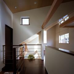 建築/住宅/インテリア/新築/住まい/家/... 光をつなぐ家  設計:プライム一級建築士…