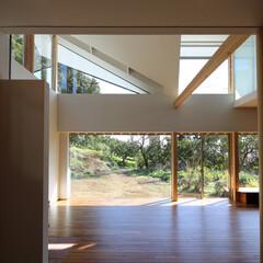 住宅/建築/インテリア/山に向かう家/新築/住まい/... 山に向かう家  設計:プライム一級建築士…