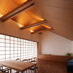 住宅/建築/インテリア/つなぎ梁の家/新築/住まい/... つなぎ梁の家  設計:プライム一級建築士…