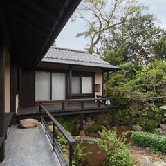 建築/建築家/住まい/古民家再生 島原古民家再生 増築茶室と池