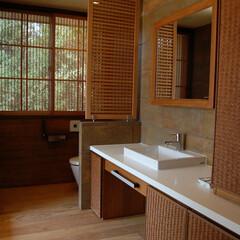 洗面所/パウダールーム/竹 アジアンテラスハウス