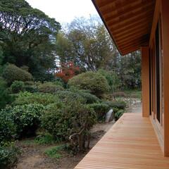 住まい/建築/建築家/和風住宅/庭/濡れ縁 庭と共に在る…唐津の家