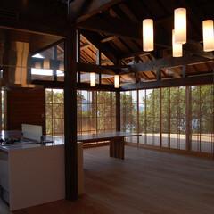 アジアン/平屋/テラス/木の家/別荘 アジアンテラスハウス