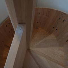 階段/螺旋階段 木製螺旋階段