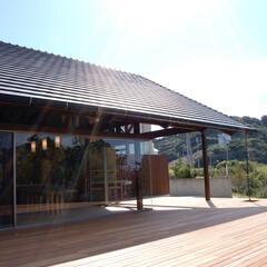 アジアン/テラス/海辺の家/建築家/別荘/大開放 アジアンテラスハウス