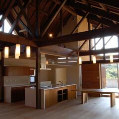 アジアンテイスト/アジアン/平屋/木の家/木組み アジアンテラスハウス