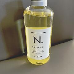 N. ポリッシュオイル | N.(その他ヘアケア)を使ったクチコミ「美容院で軽く巻いてもらって付けたら、一日…」(1枚目)